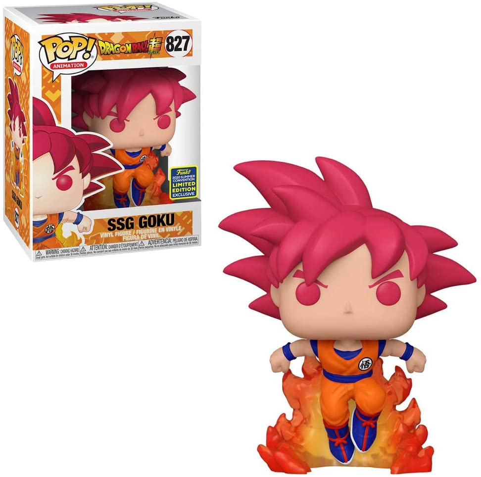 Goku Super Saiyan God Funko Pop 827
